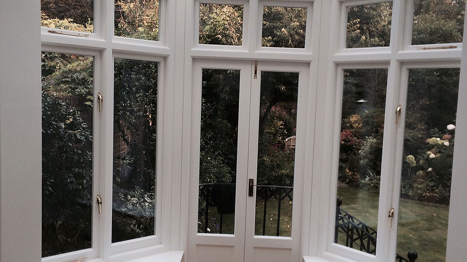 Oak and Willow bespoke windows